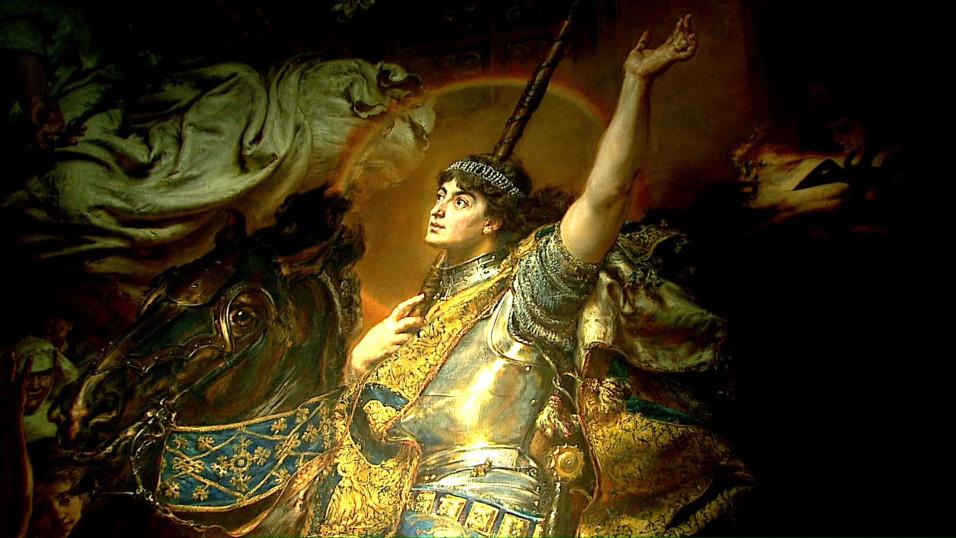Joanna d'Arc w Rogalinie