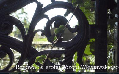 Prasowe informacje o konferencji i projekcji naszej impresji o renowacji grobu Józefa Wieniawskiego