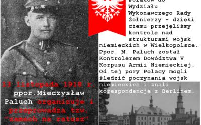 """13.XI.1918 roku – tzw. """"Zamach na Ratusz"""" w Poznaniu"""