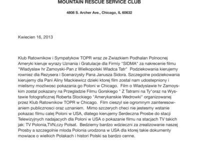 Klub Ratowników i Sympatyków TOPR