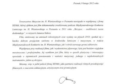 Towarzystwo Muzyczne im. H. Wieniawskiego