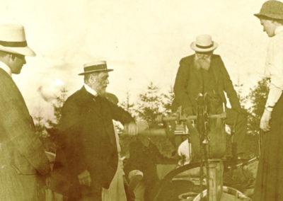 Władysław Zamoyski z towarzystwem