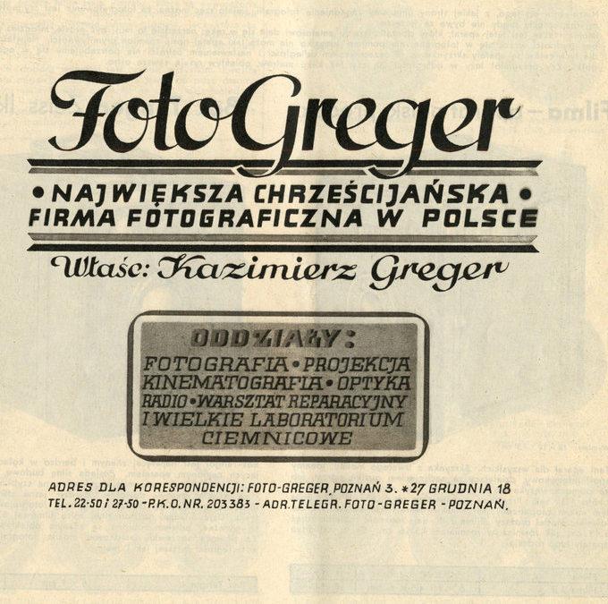 Kazimierz Greger – fotograf Powstania Wielkopolskiego